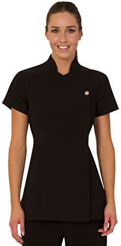 Proluxe Press Stud Salon Tunic - Beauty Hairdressing Massage Therapist Spa Health Work Nail Uniform - Available in 6… 3
