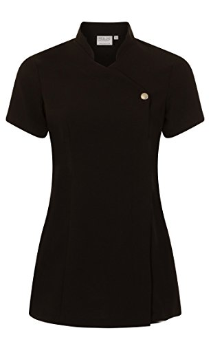 Proluxe Press Stud Salon Tunic - Beauty Hairdressing Massage Therapist Spa Health Work Nail Uniform - Available in 6… 1