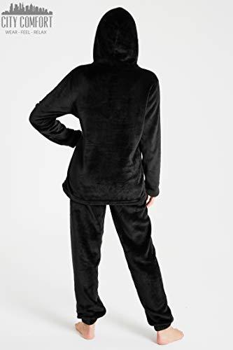 Pyjamas for Women Girls Ladies PJ's Comfy Snuggle Warm Fleece Twosie Pajama Set | Pyjama Flannel Shorts or Bottoms Set… 7