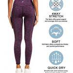 QUEENIEKE Women Yoga Leggings Power Flex Mesh Mid Waist 3 Phone Pocket Gym Running Tights 20