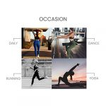 QUEENIEKE Yoga Leggings with Pocket Classic Tummy Control Medium Waist Running Pants Workout Tights for Women(60126) 19