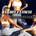 RIOJOY Scrunch Butt Gym Leggings Women 3D Mesh Knitted Bubble Textured Anti-Cellulite Gym Leggings High Waist 18