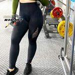 RIOJOY Hollow Out Seamless Leggings Women Gym High Waisted Slimming Energy Fitness Leggings 18