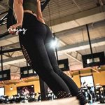 RIOJOY Hollow Out Seamless Leggings Women Gym High Waisted Slimming Energy Fitness Leggings 23