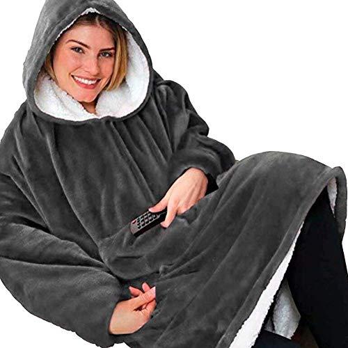 Rancross Huggle Hoodie, Hooded Dress, Spa, Bathrobe, Sweatshirt, Fleece, Pullover, Blanket, Men, Women 1