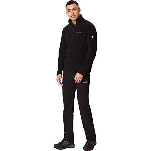 Regatta Men's Montes Lightweight Half Zip Overhead Micro Fleece Jacket 4