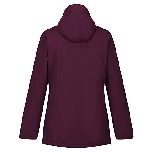 Regatta Women's Bergonia Ii Waterproof Taped Seams Insulated Hooded Jacket 4