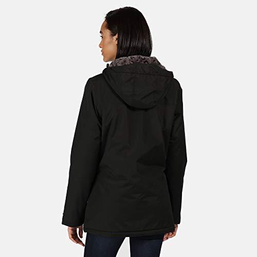 Regatta Women's Bergonia Ii Waterproof Taped Seams Insulated Hooded Jacket 6
