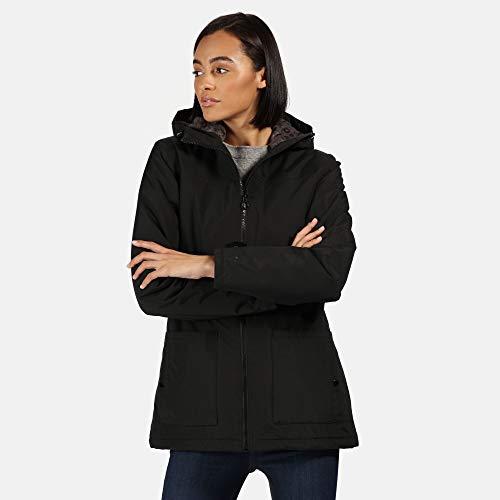 Regatta Women's Bergonia Ii Waterproof Taped Seams Insulated Hooded Jacket 7