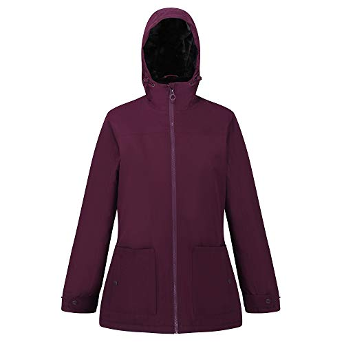 Regatta Women's Bergonia Ii Waterproof Taped Seams Insulated Hooded Jacket 8