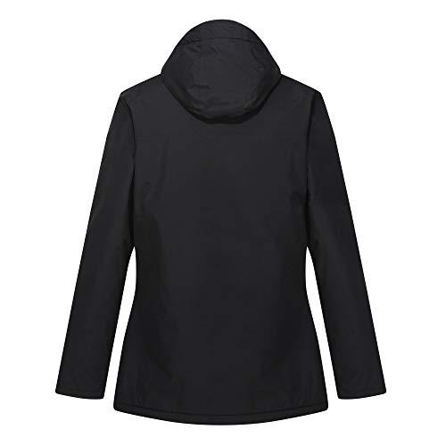 Regatta Women's Bergonia Ii Waterproof Taped Seams Insulated Hooded Jacket 9