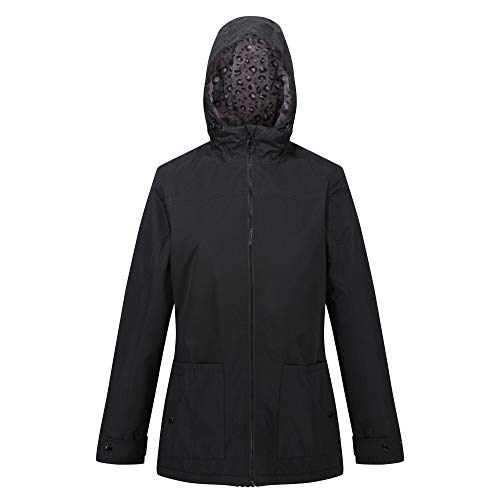 Regatta Women's Bergonia Ii Waterproof Taped Seams Insulated Hooded Jacket 1