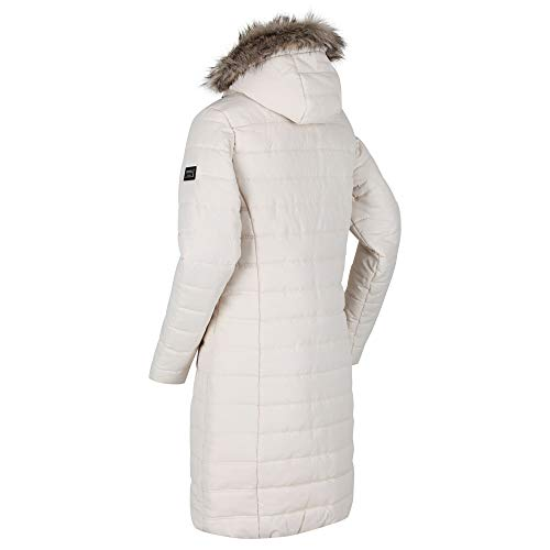 Regatta Women's Fritha Insulated Lined Baffle Quilted Hooded Jacket Jacket 3