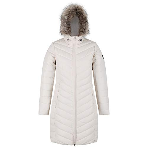 Regatta Women's Fritha Insulated Lined Baffle Quilted Hooded Jacket Jacket 1