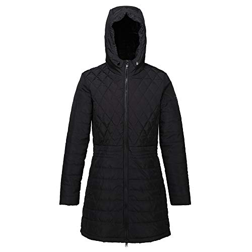 Regatta Women's Parmenia Insulated Quilted Lined Jacket With Fold Down Hood Jacket 4