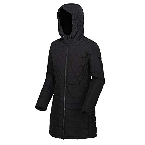 Regatta Women's Parmenia Insulated Quilted Lined Jacket With Fold Down Hood Jacket 7