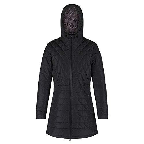 Regatta Women's Parmenia Insulated Quilted Lined Jacket With Fold Down Hood Jacket 8