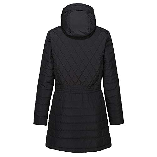 Regatta Women's Parmenia Insulated Quilted Lined Jacket With Fold Down Hood Jacket 9