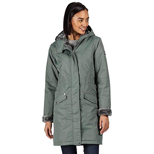 Regatta Women's Rimona Waterproof Breathable Taped Seams Insulated Lined Hooded Jacket Jacket 4