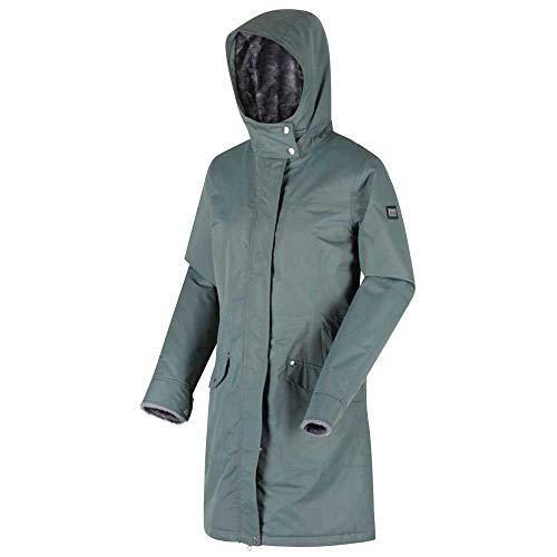Regatta Women's Rimona Waterproof Breathable Taped Seams Insulated Lined Hooded Jacket Jacket 6