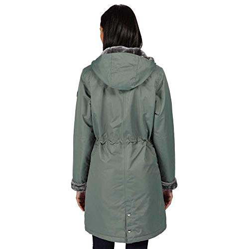 Regatta Women's Rimona Waterproof Breathable Taped Seams Insulated Lined Hooded Jacket Jacket 7