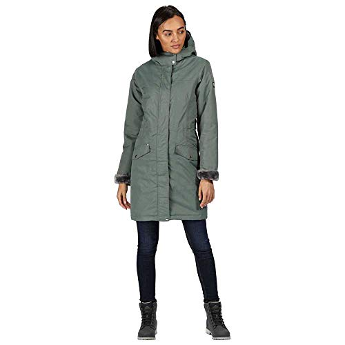 Regatta Women's Rimona Waterproof Breathable Taped Seams Insulated Lined Hooded Jacket Jacket 8