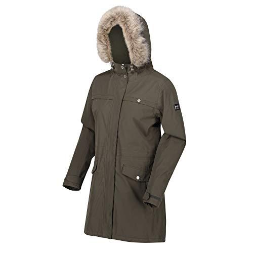 Regatta Women's Serleena Ii Waterproof Taped Seams Insulated Lined Hooded Jacket With Security Pocket Jacket 1