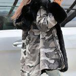 Roiii Women Winter Warm Thick Faux Fur Coat Hood Parka Long Jacket Size 8-20 23