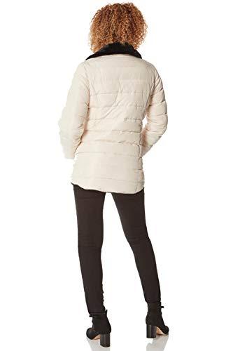Roman Originals Women Padded Parka Coat Ladies Puffer Quilted Bubble Jacket Autumn Winter Waterproof Rainproof Wind… 3