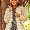 Roman Originals Women Padded Parka Coat Ladies Puffer Quilted Bubble Jacket Autumn Winter Waterproof Rainproof Wind… 11