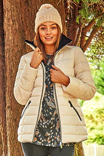 Roman Originals Women Padded Parka Coat Ladies Puffer Quilted Bubble Jacket Autumn Winter Waterproof Rainproof Wind… 4