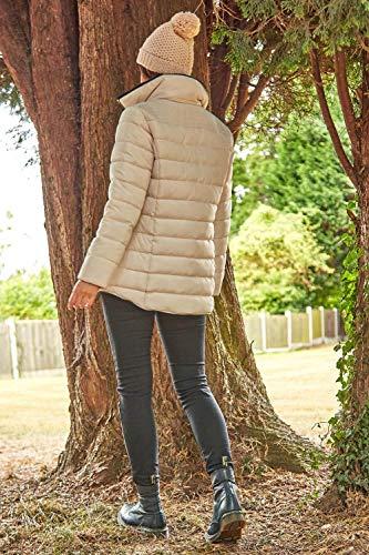 Roman Originals Women Padded Parka Coat Ladies Puffer Quilted Bubble Jacket Autumn Winter Waterproof Rainproof Wind… 6