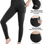 STYLEWORD Womens Leggings Yoga Pants with Pockets High Waist Gym Workout Running Sports Leggings 14