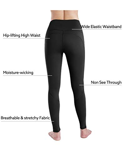 STYLEWORD Womens Leggings Yoga Pants with Pockets High Waist Gym Workout Running Sports Leggings 5