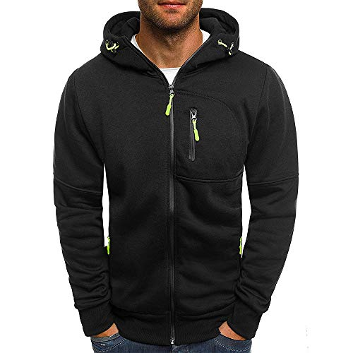 SXZG Autumn and Winter New Men Jacquard Sweater Men Sports and Fitness Cardigan Hooded Jacket 1