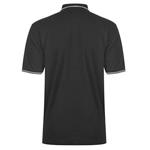 Slazenger Men's Polo Shirt, Short-Sleeved, Striped Details 4