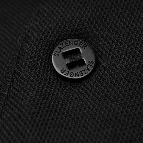 Slazenger Men's Polo Shirt, Short-Sleeved, Striped Details 6