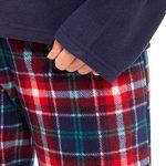 Slumber Hut® Ladies Microfleece Pyjamas Grandad Button Collar Womens Loungewear PJs Pajamas - Grey Navy Blue or Pink… 22