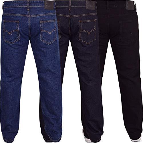 Spindle Mens Heavy Duty Straight Leg Basic Hardwearing 100% Cotton Zip Fly Denim Pants Jeans Sizes 30-48 inch Waist 4