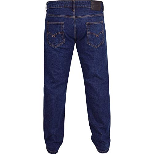 Spindle Mens Heavy Duty Straight Leg Basic Hardwearing 100% Cotton Zip Fly Denim Pants Jeans Sizes 30-48 inch Waist 6