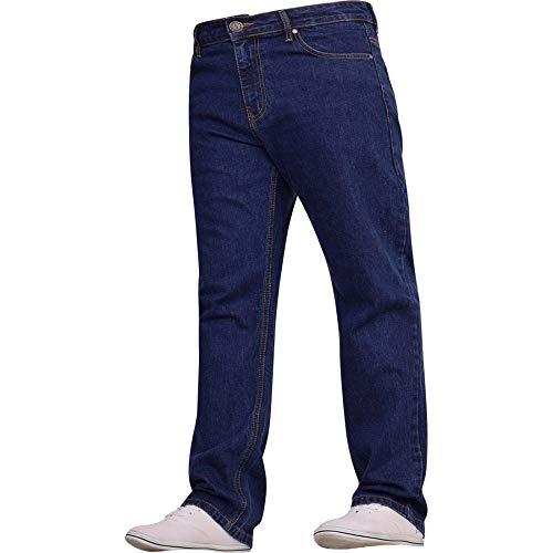Spindle Mens Heavy Duty Straight Leg Basic Hardwearing 100% Cotton Zip Fly Denim Pants Jeans Sizes 30-48 inch Waist 7