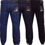 Spindle Mens Heavy Duty Straight Leg Basic Hardwearing 100% Cotton Zip Fly Denim Pants Jeans Sizes 30-48 inch Waist 25