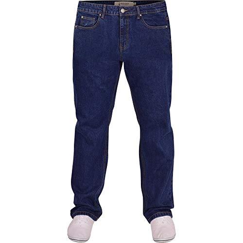 Spindle Mens Heavy Duty Straight Leg Basic Hardwearing 100% Cotton Zip Fly Denim Pants Jeans Sizes 30-48 inch Waist 9