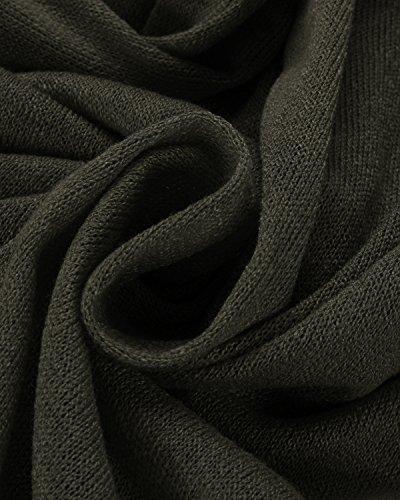 Style Dome Womens Oversized Jumper Dress V Neck Pullover Long Sleeve Knitwear Knit Sweater Plus Size Sweatshirt Tunic… 8