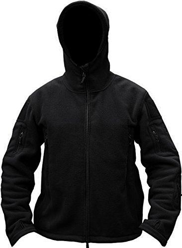 TACVASEN Windproof Men's Military Fleece Combat Jacket Tactical Hoodies 7