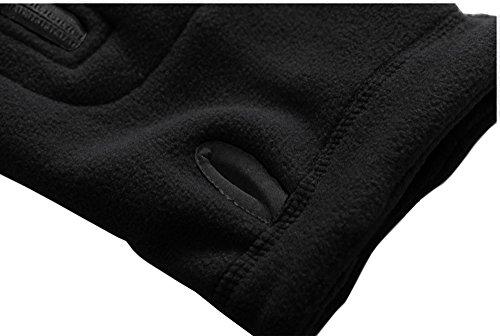 TACVASEN Windproof Men's Military Fleece Combat Jacket Tactical Hoodies 8