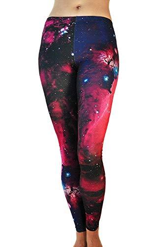 Tamskyt Women's Full Length Yoga Leggings Fitness Running Pilates Tights Gym Skinny Pants 8/10 / 12 Stretchy 1