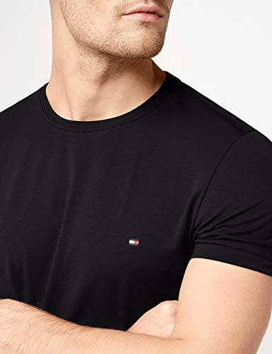 Tommy Hilfiger - Tommy Hilfiger Mens - Mens T Shirt - Mens Clothes - Designer T Shirts Men - Core Stretch Slim CN T… 4