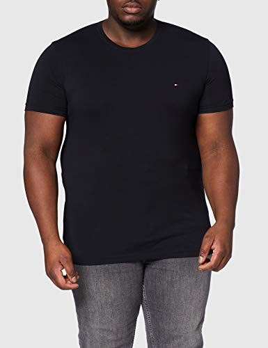 Tommy Hilfiger - Tommy Hilfiger Mens - Mens T Shirt - Mens Clothes - Designer T Shirts Men - Core Stretch Slim CN T… 5