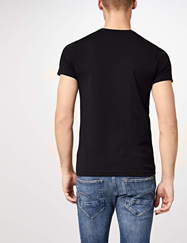 Tommy Hilfiger - Tommy Hilfiger Mens - Mens T Shirt - Mens Clothes - Designer T Shirts Men - Core Stretch Slim CN T… 6